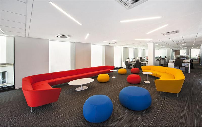 Liberlife丽联家具,巧用办公沙发匠造舒适空间